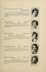 Page 17, 1934 Edition, Westfield State University - Tekoa Yearbook (Westfield, MA) online yearbook collection