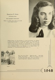 Page 17, 1948 Edition, Westfield State University - Tekoa Yearbook (Westfield, MA) online yearbook collection