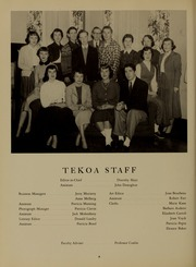 Page 10, 1954 Edition, Westfield State University - Tekoa Yearbook (Westfield, MA) online yearbook collection