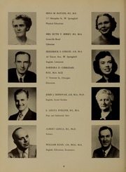 Page 12, 1954 Edition, Westfield State University - Tekoa Yearbook (Westfield, MA) online yearbook collection