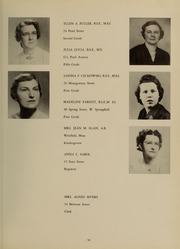 Page 15, 1954 Edition, Westfield State University - Tekoa Yearbook (Westfield, MA) online yearbook collection
