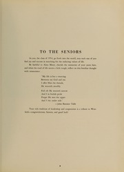 Page 9, 1954 Edition, Westfield State University - Tekoa Yearbook (Westfield, MA) online yearbook collection