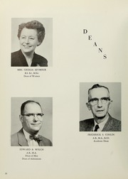 Page 14, 1961 Edition, Westfield State University - Tekoa Yearbook (Westfield, MA) online yearbook collection