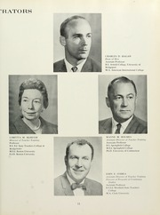 Page 15, 1963 Edition, Westfield State University - Tekoa Yearbook (Westfield, MA) online yearbook collection