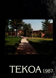 Page 1, 1987 Edition, Westfield State University - Tekoa Yearbook (Westfield, MA) online yearbook collection