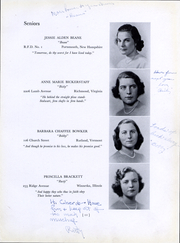 Page 13, 1940 Edition, Bouve Boston School of Physical Education - Escutcheon Yearbook (Boston, MA) online yearbook collection