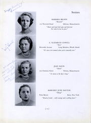 Page 14, 1940 Edition, Bouve Boston School of Physical Education - Escutcheon Yearbook (Boston, MA) online yearbook collection