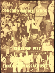 1977 Edition, Concord Middle School - Yearbook (Concord, MA)