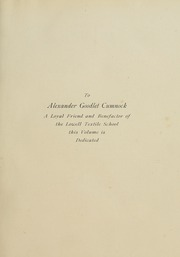 Page 11, 1908 Edition, Lowell Technological Institute - Pickout Yearbook (Lowell, MA) online yearbook collection