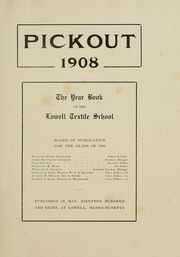 Page 7, 1908 Edition, Lowell Technological Institute - Pickout Yearbook (Lowell, MA) online yearbook collection