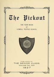 Page 7, 1927 Edition, Lowell Technological Institute - Pickout Yearbook (Lowell, MA) online yearbook collection