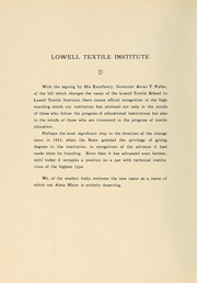 Page 8, 1928 Edition, Lowell Technological Institute - Pickout Yearbook (Lowell, MA) online yearbook collection
