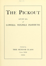 Page 7, 1936 Edition, Lowell Technological Institute - Pickout Yearbook (Lowell, MA) online yearbook collection