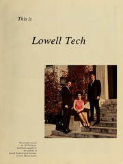 Page 5, 1967 Edition, Lowell Technological Institute - Pickout Yearbook (Lowell, MA) online yearbook collection