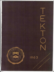 Page 1, 1963 Edition, Wentworth Institute of Technology - Tekton Yearbook (Boston, MA) online yearbook collection