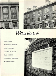 Page 9, 1963 Edition, Wentworth Institute of Technology - Tekton Yearbook (Boston, MA) online yearbook collection