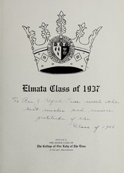 Page 5, 1937 Edition, Elms College - Elmata Yearbook (Chicopee, MA) online yearbook collection