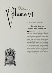 Page 6, 1937 Edition, Elms College - Elmata Yearbook (Chicopee, MA) online yearbook collection
