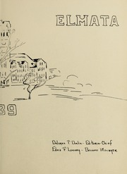 Page 7, 1939 Edition, Elms College - Elmata Yearbook (Chicopee, MA) online yearbook collection