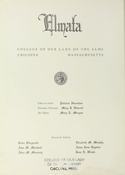 Page 8, 1948 Edition, Elms College - Elmata Yearbook (Chicopee, MA) online yearbook collection