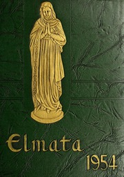 1954 Edition, Elms College - Elmata Yearbook (Chicopee, MA)