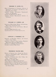 Page 15, 1916 Edition, Framingham State University - Dial Yearbook (Framingham, MA) online yearbook collection