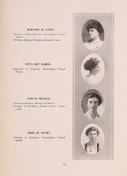 Page 17, 1916 Edition, Framingham State University - Dial Yearbook (Framingham, MA) online yearbook collection