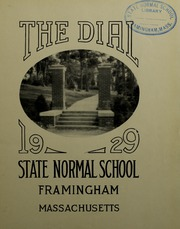 Page 5, 1929 Edition, Framingham State University - Dial Yearbook (Framingham, MA) online yearbook collection