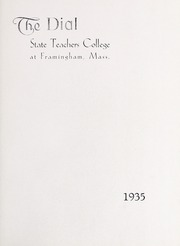 Page 7, 1935 Edition, Framingham State University - Dial Yearbook (Framingham, MA) online yearbook collection