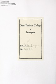 Page 4, 1944 Edition, Framingham State University - Dial Yearbook (Framingham, MA) online yearbook collection