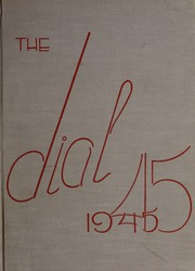 Framingham State University - Dial Yearbook (Framingham, MA) online yearbook collection, 1945 Edition, Page 1