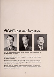 Page 13, 1946 Edition, Framingham State University - Dial Yearbook (Framingham, MA) online yearbook collection