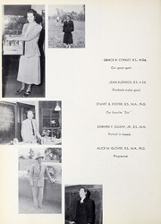 Page 16, 1950 Edition, Framingham State University - Dial Yearbook (Framingham, MA) online yearbook collection