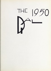 Page 7, 1950 Edition, Framingham State University - Dial Yearbook (Framingham, MA) online yearbook collection