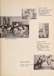 Page 13, 1952 Edition, Framingham State University - Dial Yearbook (Framingham, MA) online yearbook collection