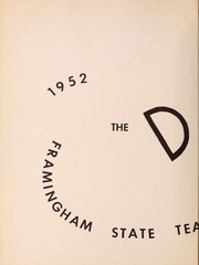 Page 6, 1952 Edition, Framingham State University - Dial Yearbook (Framingham, MA) online yearbook collection