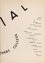 Page 7, 1952 Edition, Framingham State University - Dial Yearbook (Framingham, MA) online yearbook collection