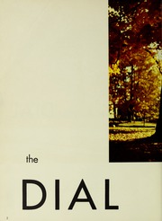 Page 6, 1958 Edition, Framingham State University - Dial Yearbook (Framingham, MA) online yearbook collection
