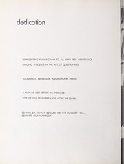 Page 16, 1961 Edition, Framingham State University - Dial Yearbook (Framingham, MA) online yearbook collection
