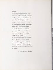 Page 24, 1961 Edition, Framingham State University - Dial Yearbook (Framingham, MA) online yearbook collection