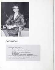 Page 8, 1962 Edition, Framingham State University - Dial Yearbook (Framingham, MA) online yearbook collection