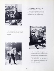 Page 10, 1963 Edition, Framingham State University - Dial Yearbook (Framingham, MA) online yearbook collection