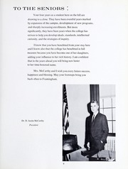 Page 13, 1963 Edition, Framingham State University - Dial Yearbook (Framingham, MA) online yearbook collection