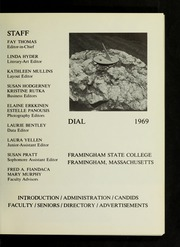 Page 5, 1969 Edition, Framingham State University - Dial Yearbook (Framingham, MA) online yearbook collection