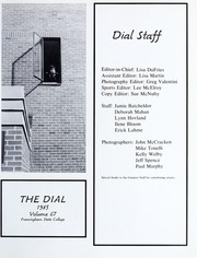 Page 5, 1985 Edition, Framingham State University - Dial Yearbook (Framingham, MA) online yearbook collection
