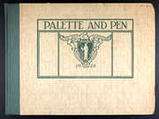 1924 Edition, Massachusetts College of Art and Design - Palette and Pen Yearbook (Boston, MA)