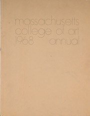 1968 Edition, Massachusetts College of Art and Design - Palette and Pen Yearbook (Boston, MA)