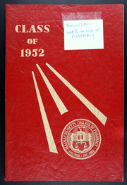 1952 Edition, Massachusetts College of Pharmacy and Health Sciences - Yearbook (Boston, MA)