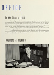 Page 13, 1948 Edition, Suffolk University - Beacon Yearbook (Boston, MA) online yearbook collection