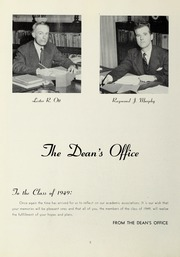 Page 10, 1949 Edition, Suffolk University - Beacon Yearbook (Boston, MA) online yearbook collection